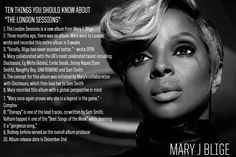 Mary J. Blige – The London Sessions #LondonSessions #ad @maryjblige