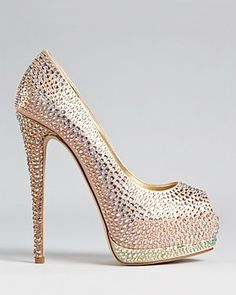 Giuseppe Zanotti Pumps - Sharon Crystal Open Toe