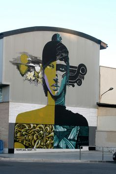 Mural art. Unknown location.