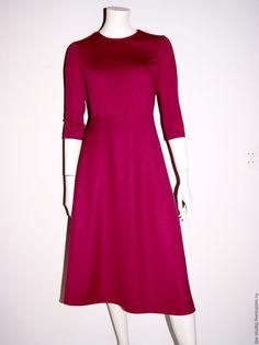 Купить Платье модель 81616 - белый, однотонный, платье, платье летнее, платье…