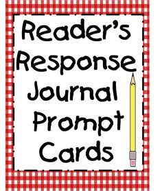 Reading Response Prompt Cards First Grade Wow: Perfect for higher readers for self/someone.  28 free reading response cards- simply download and print!