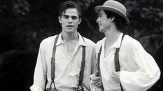 "The Salvatore brothers - ""The Vampire Diaries"""