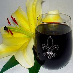 Fluer di Lis Wine Glass