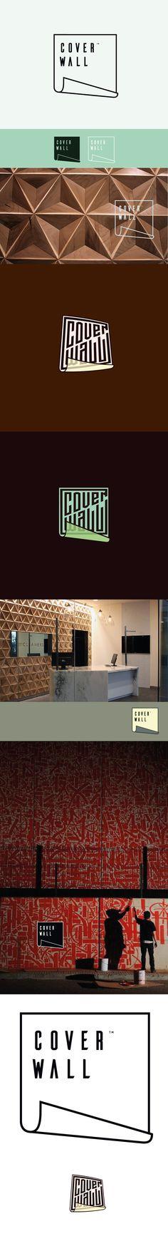 Ontwerpen | Coverwall needs a clever, modern-artsy logo | Logo ontwerp ontwerpwedstrijd