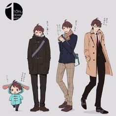 is oikawa cosplaying cas? Kagehina, Oikawa X Iwaizumi, Iwaoi, Kuroo Tetsurou, Haikyuu Fanart, Haikyuu Anime, Anime Guys, Manga Anime, Haikyuu Volleyball