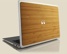 Grove Bamboo Back for MacBook Pro