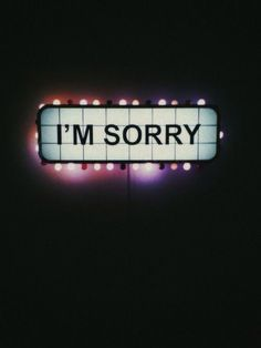 """Being able to admit that """"I am sorry"""" when I am at fault is important part of the spiritual journey. Too often our ego wants to be right and ignore the fact that being right actually does us wrong. Owning up to my mistakes and apologizing to those who were affected is a crucial step towards recovery. Of course, sincerity goes a long way. #buddhawithin #owningup #positivechange"""