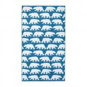 Anorak Kissing Bears Bath Sheet