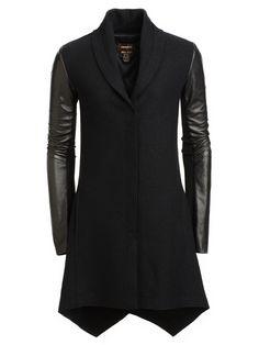 Danier Leather Sleeve Coat