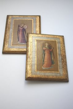 Set of 2 Vintage Italian Fra Angelico Angel by SecondHandNews, $24.95