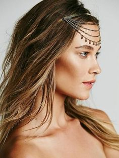 Love this chain headband by @freepeople