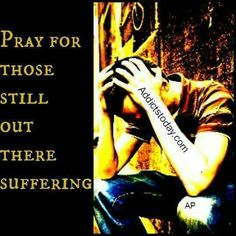 I thank God every day for my sobriety and pray for those who still suffer and struggle with addiction. Please pray for them as well. Prayer works!!!
