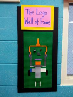 Ardith's Art Journal: Lego Sketch Board My favorite art center in my classroom. Teaches students to use a traditional building block to sketch with, laying the foundation for 3D design for the younger ones.
