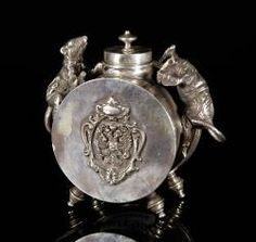RUSSIAN SILVER INKWELL October 25th Unreserved Estate Auction | Official Kaminski Auctions