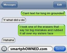 18 ideas funny messages laughing so hard texts mothers Funny Texts Jokes, Text Jokes, Funny Text Fails, Memes Funny Faces, Funny Text Messages, Stupid Funny Memes, Funny Relatable Memes, Epic Texts, Funny Stuff
