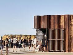 Third Wave Kiosk. Restaurant & Bar Design Awards 2013 winner Torquay / Australia / 2012
