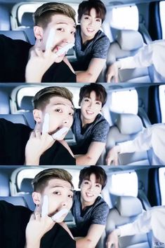 bts rap monster jungkook bagtan boys cute bts lider x maknae