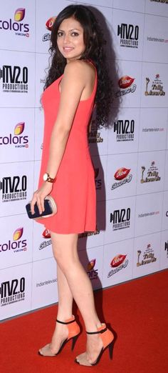 Drashti Dhami at the Indian Telly Awards 2013 #Bollywood #Fashion