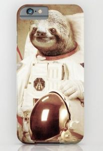 Sloth Astronaut iPhone Case   Gifts For Guys