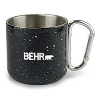 Black Honda Logo Insulated Double Wall Stainless Steel Travel Coffee Mug Etch