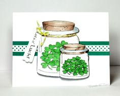 CAS419, FS527, Jars of Shamrocks