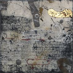 Walter Rast. Quelquefois Dans Un Jardin, 2008. Mixed media
