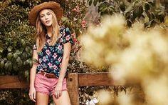 Flores en blusa