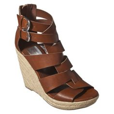 Women's Dulce Vita for Target Rope Wedges in Cognac $10.48 YES PLEASE