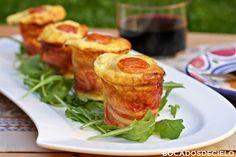 Pastelitos de puerro y bacon (SG)