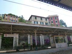 Stazione, Camogli Liguria Italia (Luglio)
