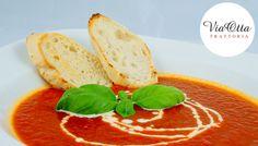 Zapraszamy na spróbowanie kremu z grillowanej papryki i pomidorów. Smakuje pysznie, jak babcina zupa :) www.viaotta.pl