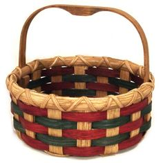 Cookie Basket - December 2014 free pattern from Joanna's Collections