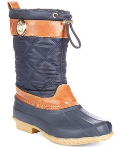 Tommy Hilfiger Women's Arcadia Duck Boots - Winter & Rain Boots - Shoes - Macy's