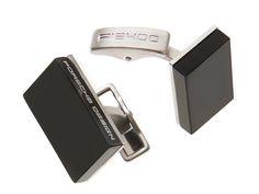 Cufflinks 137843: Porsche Design Sterling Silver Black Cufflinks Nib Wlands 51525 -> BUY IT NOW ONLY: $199 on eBay!