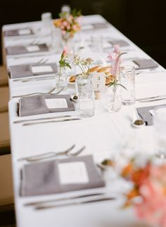 #tablescapes  Photography: Rebecca Yale Portraits - www.rebeccayaleportraits.com  Read More: http://www.stylemepretty.com/2014/12/30/romantic-south-brooklyn-wedding/