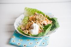 What a great recipe that is nutritious and delicious and is sure to be a winning family recipe. Chicken Fajita Lettuce Wraps #WeekdaySupper