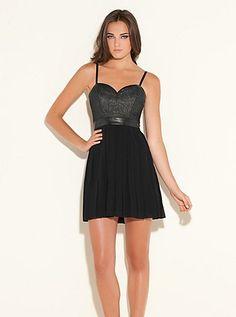Alice Sleeveless Dress (Jet Black Multi). Guess. $118.00