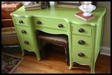 great green for a makeover piece