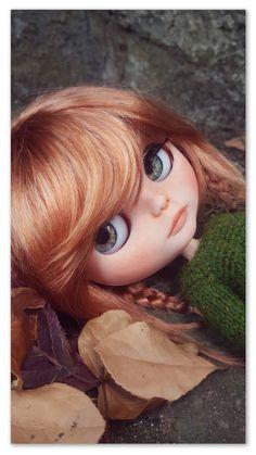 Quiero compartir lo último que he añadido a mi tienda de #etsy: Hildur custom blythe doll #custom #handmade #blythe #juguetes