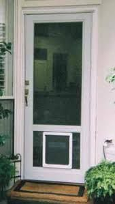 Image Result For Storm Door With Dog Door