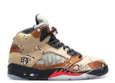 Big Discount! 66% OFF! Air Jordan 5 Retro Supreme Supreme Sale 307668