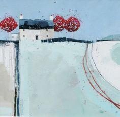 Scottish Artist Dionne SIEVEWRIGHT-Manor House