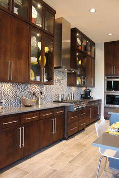 Best Fc Studio Inc Great Modern Sleek Kitchen Great Slab Door 400 x 300