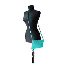 Lucia Italian Turquoise Leather Envelope Clutch Bag - £24.99 Italian Women, Leather Clutch Bags, Envelope Clutch, Lush Green, Italian Leather, Turquoise, Lady, Swimwear, Fashion