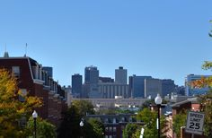 Baltimore, Maryland, viewed from East Fairmount Avenue & North Broadway, in the Dunbar neighborhood #photography #architecture #architecturalphotography #building #street #urban #sky #skyline #skyporn #scene #blue #travel #light #dof #hrd #nikon #nikonphotography #nikond3200 #hdr_pics #beautifulday #cityandcolour #colorful #cityscape #streetphoto #streetphotography #dunbar #baltimore #Maryland #md