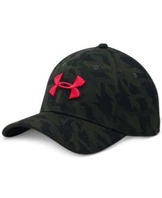 Under Armour Men s Printed HeatGear Logo Cap Men - Hats 084d4a75b9b1