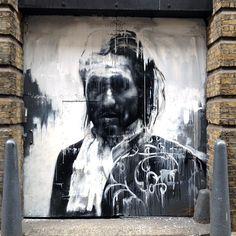 Conor Harrington New Mural In London, UK
