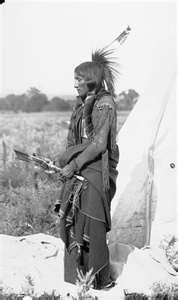 Quanah Parker when the Comanches still roamed the southern plains