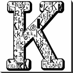 1000 Images About Quot K Quot Is For Kay On Pinterest Letter K