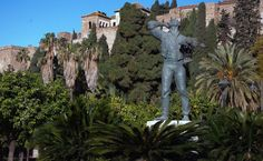 Biznaguero, Puerta Oscura y Alcazaba